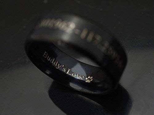 Gift for dog lover Engraved personalized bracelet.