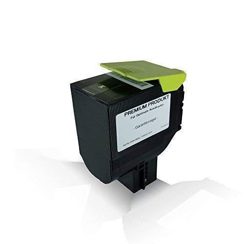 kompatible Tonerkartusche Black für Lexmark 4.000 Seiten CX410de CX410dte CX410e CX510de CX510dhe CX510dthe CX 410 de CX 410 dte CX 410 e CX 510 de CX 510 dhe CX 510 dthe 802HK Black Schwarz BK K