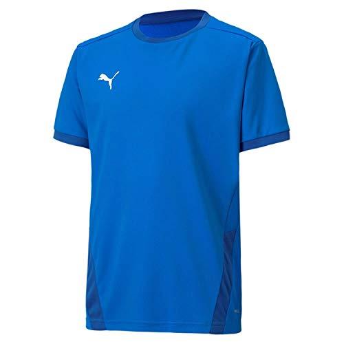 PUMA Teamgoal 23 Jersey Jr T-Shirt Garçon, Electric Blue Lemonade-Team Power Blue, 152