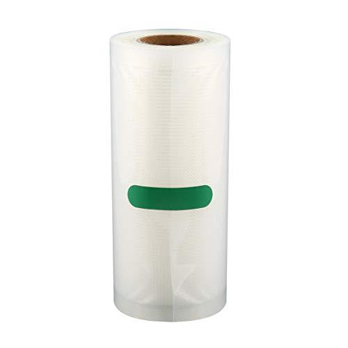MOHAN88 Bolsa de envasado al vacío de Alimentos para el hogar para Alimentos al vacío Bolsa de Carga Larga de Mantenimiento Fresco 15 cm * 500 cm 1 Rollo - Transparente