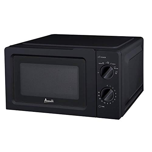 Avanti MM07K1B 0.7 Black Countertop Manual Microwave Oven