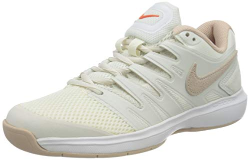 Nike W Air Zoom Prestige CPT, Zapatillas de Tenis Mujer, Beige (Phantom/Particle Beige/Sail/or 001), 42 EU
