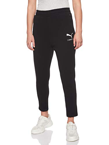 PUMA Damen NU-TILITY Sweat Pants Jogginghose, Black, M
