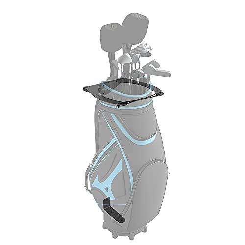 Koova Golftaschen-Aufbewahrung, Wandhalterung für die Garage für Golfschläger – passend für Jede Größe von Wagen oder Standtasche verwenden – bringt Ihre Schläger vom Boden