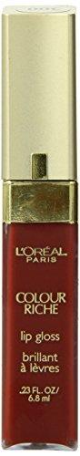 L'oreal Colour Riche Gloss, Rich Red, 0.23-Fluid Ounce by L'Oreal Paris
