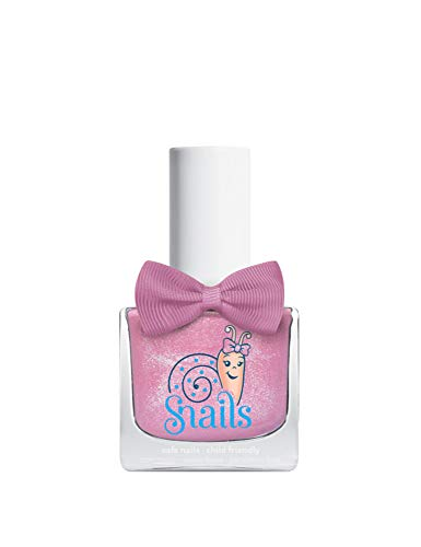 Snails Glitter Bomb Nagellack auf Wasserbasis, rosa, 10,5ml