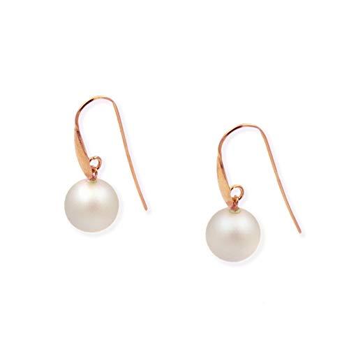 Pendientes de plata con perla Swarovski