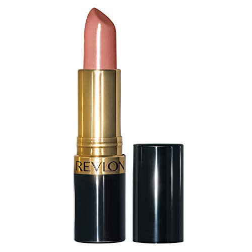 Revlon Super Lustrous Lipstick, High Impact Lipcolor with Moisturizing Creamy Formula, Infused with Vitamin E and Avocado Oil in Nude / Brown, Bare Affair (044)