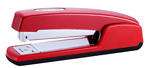 Bostitch Professional Antimicrobial Metal Executive Stapler, Red