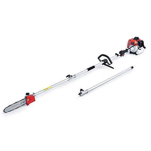 MAXTRA Gas Pole Saw, 42.7CC 2-Cycle Powerful Chainsaw Reach...
