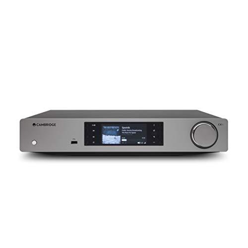 Cambridge Audio CXN (V2) Reproductor de Audio de Red con Chromecast Integrado. Spotify, Tidal, Qobuz, AirPlay 2. Compatible con Roon (Luna Gris)