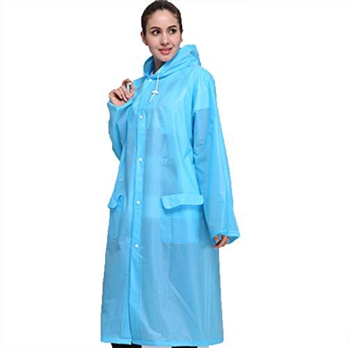 W.zz Outdoor Regenmantel für Erwachsene Regenmantel Wandern Poncho Regenbekleidung,D,M