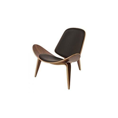 mueblespacio Réplica Wegner Chair CH07 Nogal - MSD152391219 - Negro