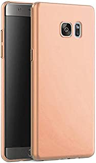 Matte Hard Plastic Cover for Samsung Galaxy Note FE (RoseGold)