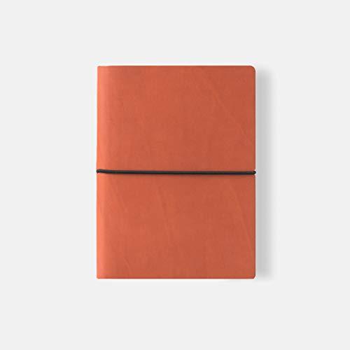 Ciak 8175CK23 Notizbuch, liniert, 12 x 17 cm, orange