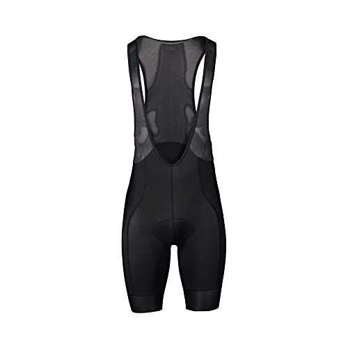 POC Pure Bib Shorts VPDs Apparel, Uranium Black/Uranium Black, M
