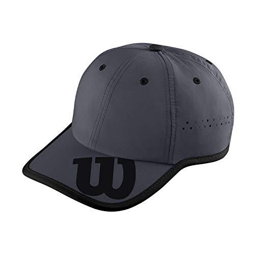 Wilson Kappe, Brand Hat, UV-Schutz, Verstellbar, Einheitsgröße, schwarz/grau, WRA733704