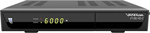 Vantage VT-68 HD-C HD-Kabel-Receiver Aufnahmefunktion Anzahl Tuner: 1