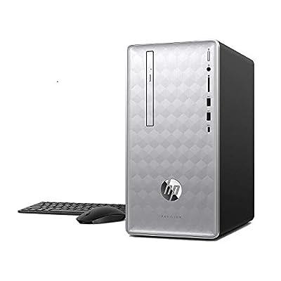 HP Pavilion 590-P0070 Intel Core i7-8700 6-Core 12GB 1TB HDD Win 10 Desktop PC (Renewed)
