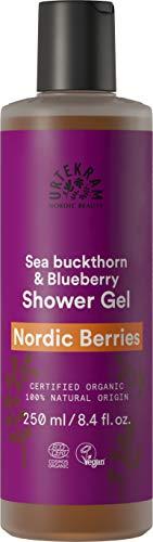 Urtekram Nordic Berries Gel Douche Bio, avec vitamines et antioxydants, 250 ml 83655