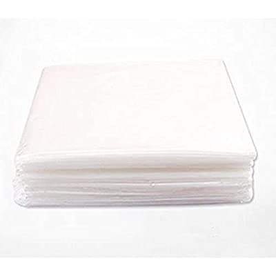 """Kacsoo Plastic Sheeting for Body Wrap Used Inside a Far Infrared Sauna Blanket 47""""x82"""" PVC Pack of 50"""