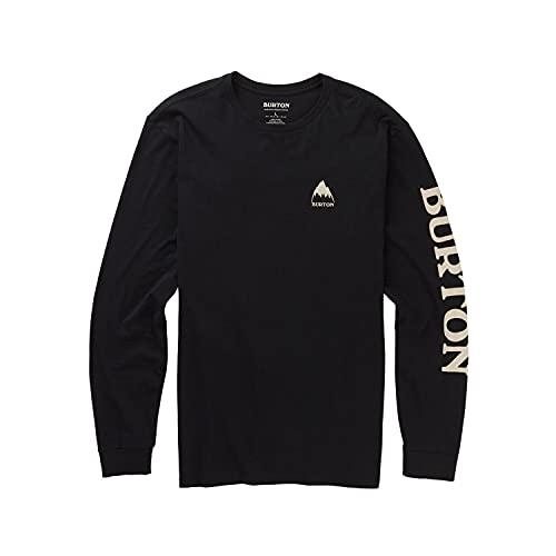 Burton Elite T-Shirt à Manches Longues Homme True Black FR : M (Taille Fabricant : M)