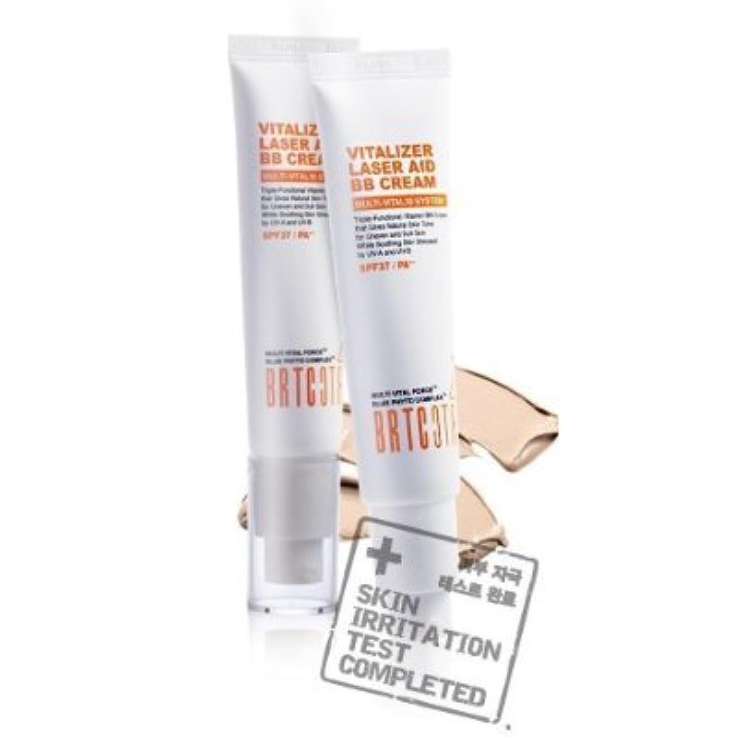 リーホールふさわしいKOREAN COSMETICS, BRTC, Vitalizer Laser Aid BB Cream 35g (whitening, anti-wrinkle, UV protection SPF37/PA + +,...