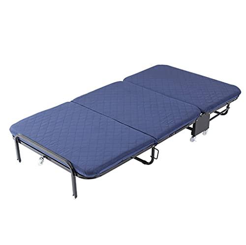 LZL Cunas de Camping Plegables para Adultos de Servicio Pesado, 28'- 33' Cuna para Dormir más Robusta y Robusta para el Uso de la Oficina de Campamento (tamaño : Width 76cm)