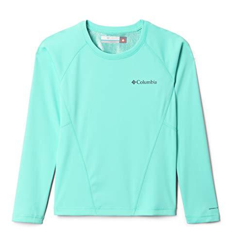 Columbia Midweight Crew 2 Camiseta térmica de Manga Larga, Unisex niños, Azul (Bright Indigo), XL