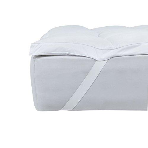 SOAK AND SLEEP Super Soft Hollowfibre Mattress Topper - Double