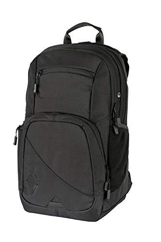 Nitro Stash 24 Rucksack, Schulrucksack, Schoolbag, Daypack, True Black, 35L