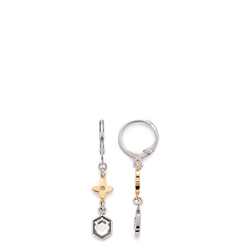 Jewels by Leonardo Damen-Hängeohrringe Edelstahl Glas 016966