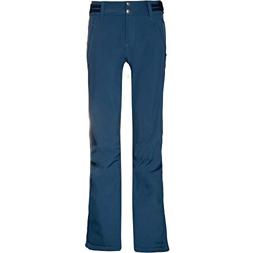 Protest Damen Lole Softshell Snowpants Hose, blau, M/38