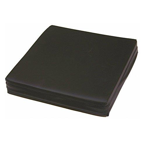 Cojín antiescaras | Fabricado con viscoelástica rosa | Producto Premium | Con forma de ranura | Dimensiones 42 x 42 x 7,5 cm | Se puede lavar