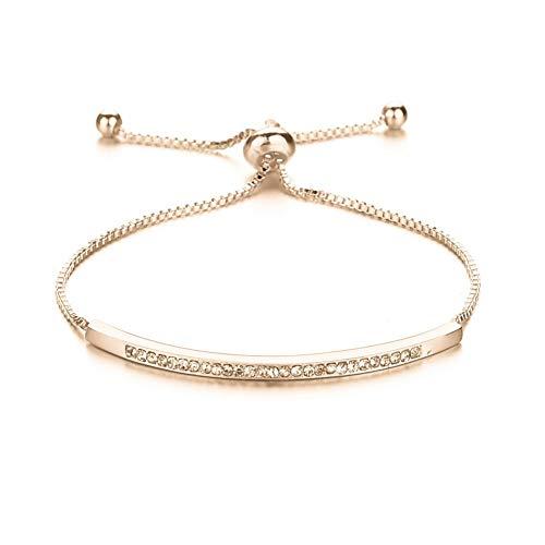 wpaacb Bracelet for Women Charm Bracelets Silver Bracelet Nomination Bracelet Couple Bracelets Creative Bracelet Cheap Bracelets Anxiety Bracelet Gold
