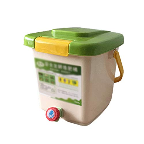 Lowest Price! Food Waste Fermentation Barrels, Household Compost Barrels, Garbage Classification, En...