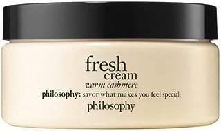 Philosophy Fresh Cream Warm Cashmere Glazed Body Souffle 8 Oz