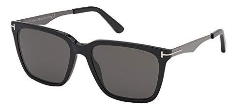 Tom Ford Gafas de Sol GARRETT FT 0862 Shiny Black/Grey 54/17/145 hombre