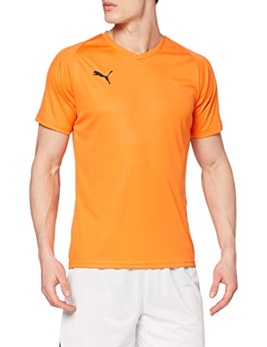 PUMA Herren Liga Jersey Core Jersey, Orange (GOLDEN POPPY), 44/46 (Herstellergröße: S)