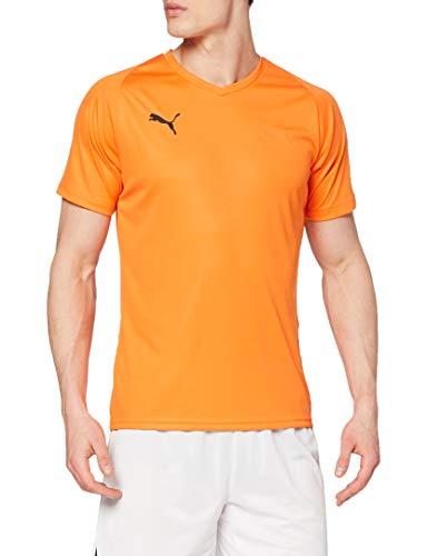 PUMA Liga Jersey Core, Maglia Calcio Uomo, Arancione (Golden Poppy), M