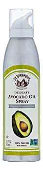 La Tourangelle Avocado Oil Spray All-Natural Handcrafted from Premium Avocados Great for Cooking Butter Substitute and Skin and Hair Care Spray Cooking and Grilling Oil 5 fl oz