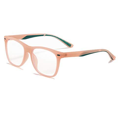 Ototon - Gafas antiluz azul para niños, antifatiga, ocular, filtro UV, montura ultraligera TR90, gafas para niños y niñas, pantalla para videojuegos