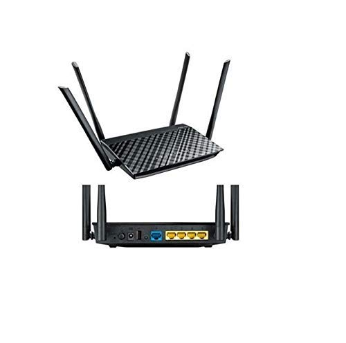 Asus Rt-ac1200 Ieee 802.11ac Ethernet Wireless Router - 2.40 Ghz Ism Band - 5 Ghz Unii Band(4 X Ext (Renewed)