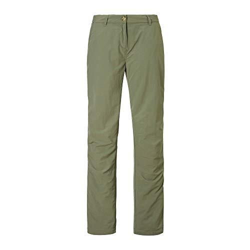 Craghoppers - Pantalon - Femme (44 FR Court) (Vert)