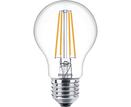 Philips Lámpara LED filamento de 8W regulable bombilla E27Forma de la bombilla
