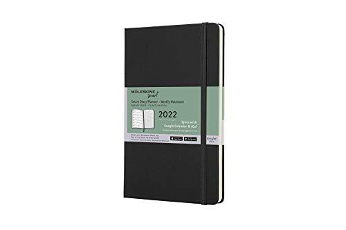 Moleskine Smart Kalender 2022 für das Smart Writing System 1 Wo = 1 Seite, rechts...