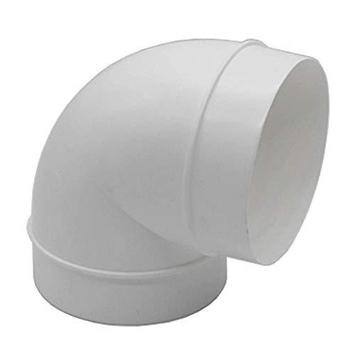 Kair tubo condotto a gomito,90 gradi,100mm,gamma SYS-100,giunto connettore in plastica PVC per ventilazione,DUCVKC300
