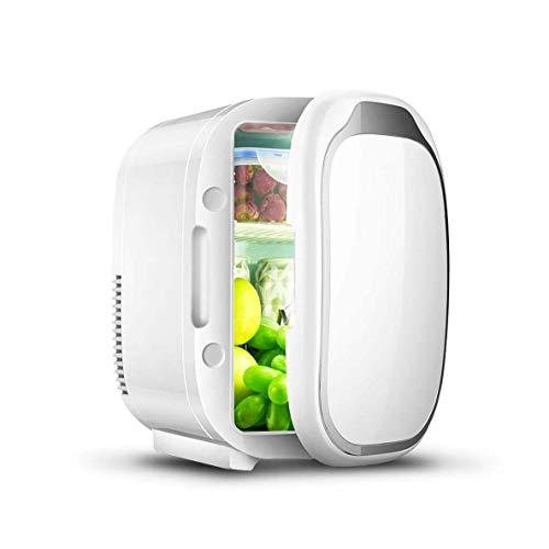FACAZ Coche Coche Refrigerador 6L Mini refrigerador portátil Coche Hogar Doble Uso Camping [Clase energética A ++]