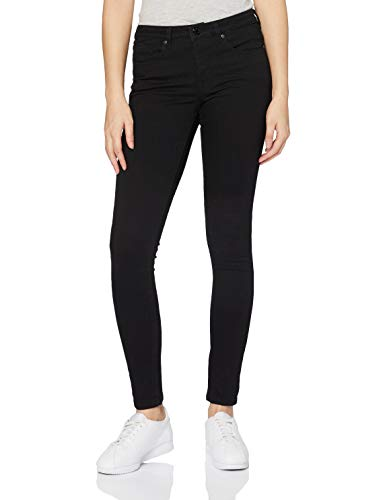 OPUS Damen Elma Slim Jeans, Schwarz (Black 900), W44/L32