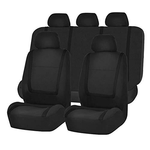 Affordable Kongqiabona 9pcs/Set Fashion Striped Car Seat Covers Dustproof Washable Seat Protectors U...